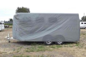 Prepare for Hunting covered trailer