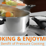 What are the benefits of cooking with a pressure cooker?